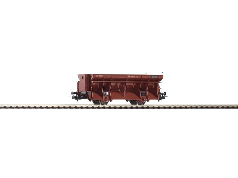 Kohleselbstentladewagen Ot03 der DB mit Bremserhaus, H0