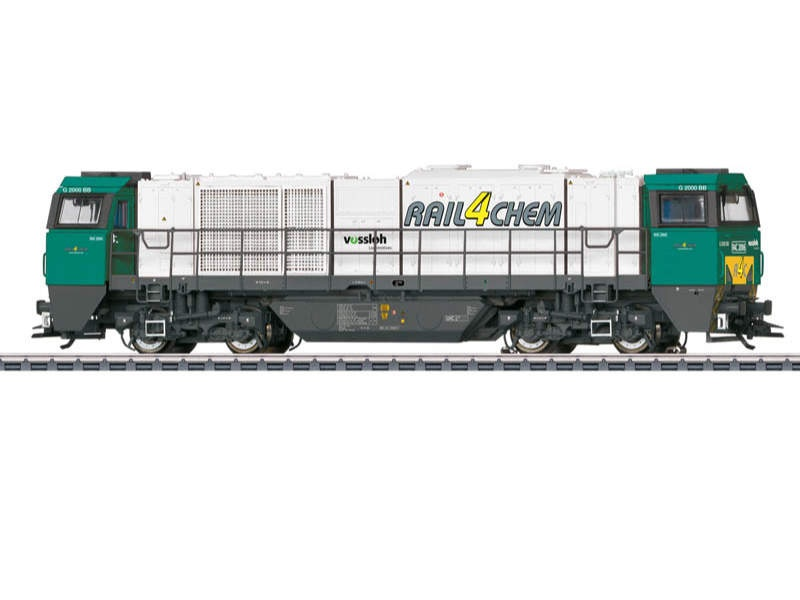 Diesellokomotive Vossloh G 2000 BB Rail4Chem Sound mfx+ H0