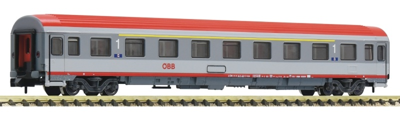 Eurofima-Wagen 1.Klasse der ÖBB, DC, Spur N
