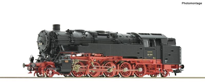 Dampflokomotive 85 004 der DRG, DC, Spur H0