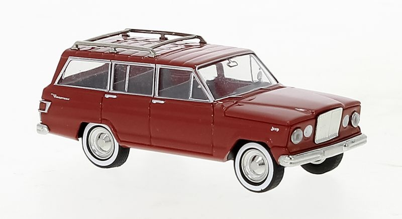 Jeep Wagoneer A, rot, 1964, 1:87 / H0