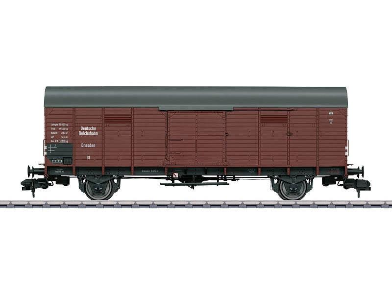 Gedeckter Güterwagen Gl 11 Dresden DRG Spur 1