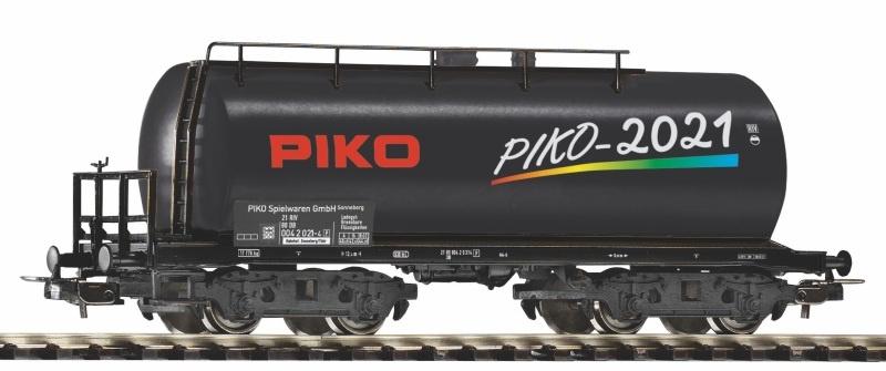 PIKO Jahreswagen 2021, DC, Spur H0
