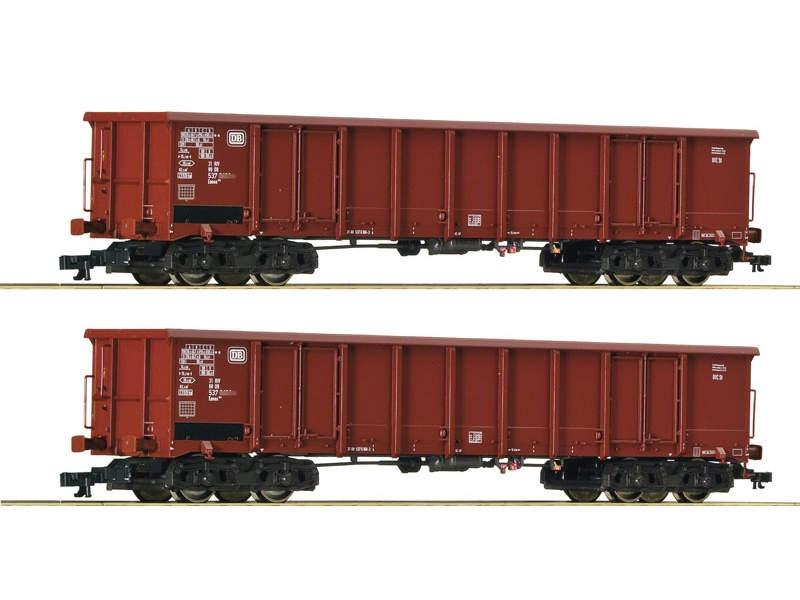 Güterwagen-Set Eanos DB 2-tlg. TT