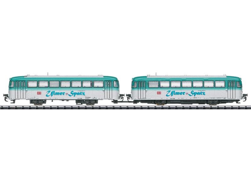 Triebwagen BR 798, DB AG, Sound, mfx, DCC, Minitrix Spur N