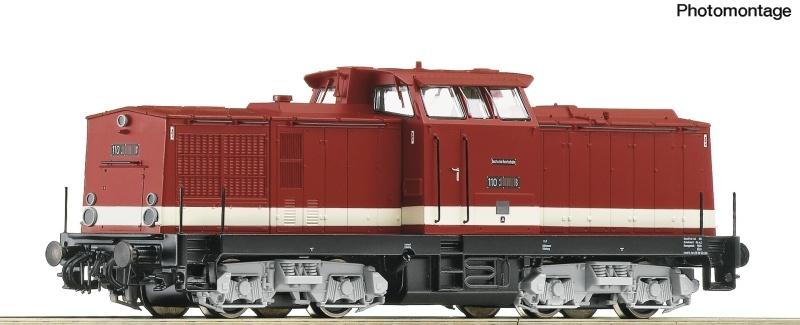 Diesellokomotive BR 110 der DR, Sound, DC, Spur H0