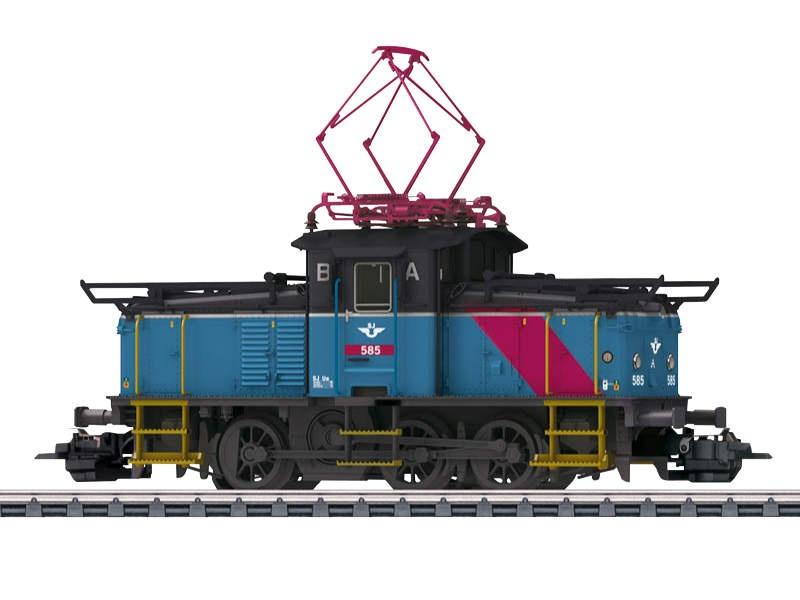 Elektrische Rangierlokomotive Reihe Ue SJ Sound mfx H0