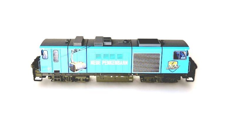 Diesellok D 14 Zillertalbahn Neue Penkenbahn, DC, Spur H0e