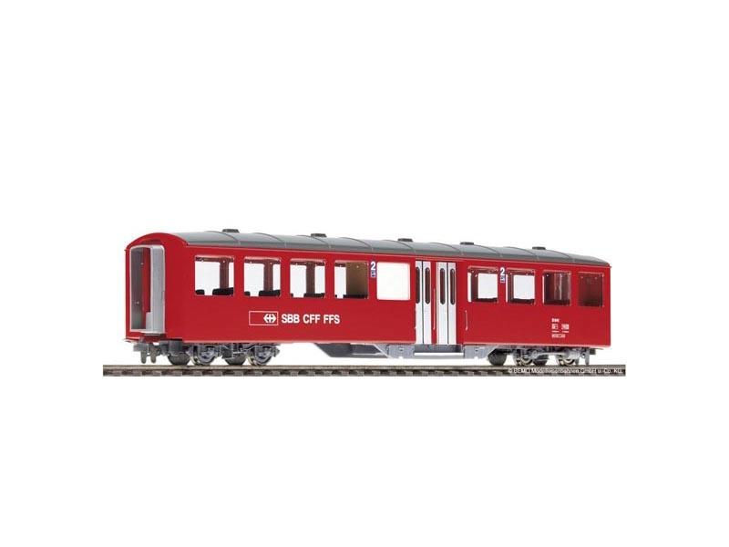 Mitteleinstiegswagen AB 472 rot 1./2.Klasse, SBB, Spur H0m