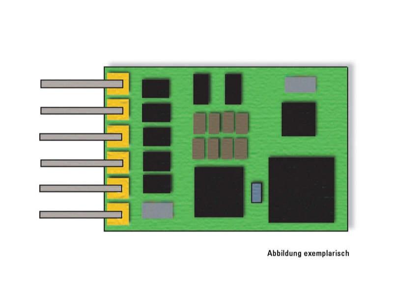 LokDecoder für 6-polige-NEM-Schnittstelle Spur N
