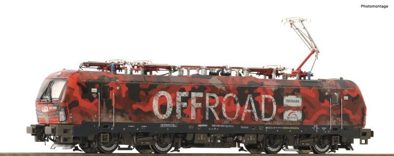 E-Lok 193 555 der TX-Logistik, Offroad, Sound, AC, Spur H0