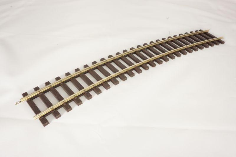Gleis gebogen R1, 22,5°, Spur 0