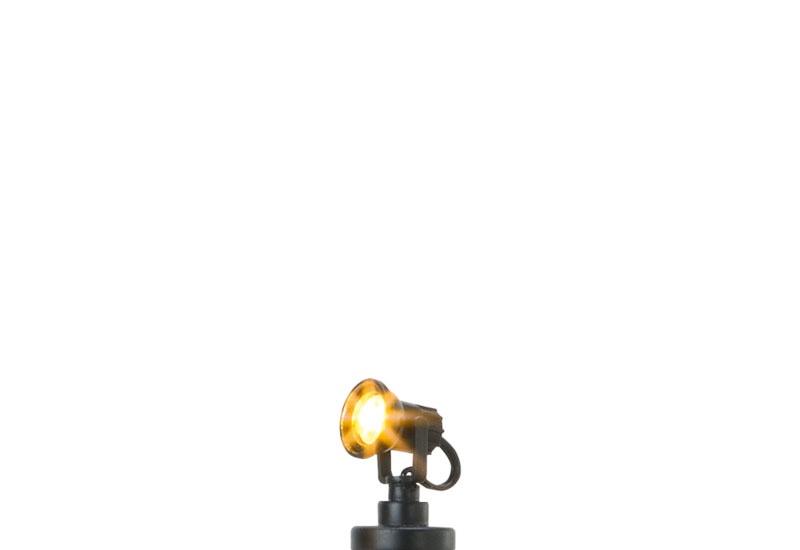 Scheinwerfer, Stecksockel mit LED, Spur H0