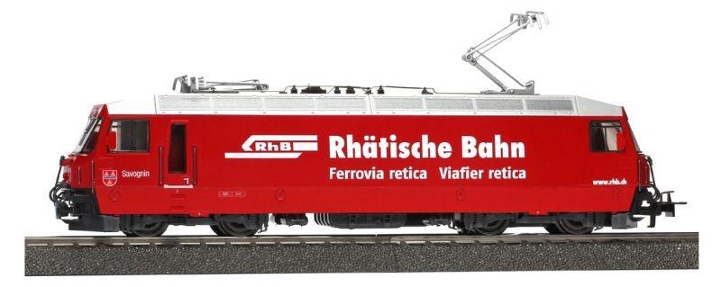 RhB Ge 4/4 III 644 Hochleistungslok, Digital, AC, Spur H0