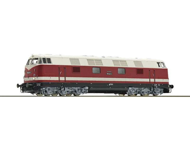 Diesellokomotive BR 118 der DR, DC, Sound, Spur H0