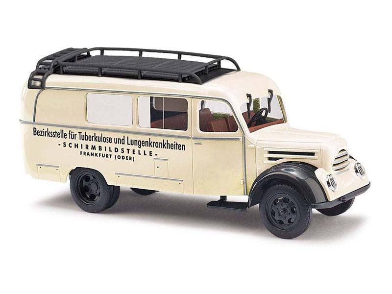 Robur Garant K 30 Kombi, Röntgenwagen, Spur H0