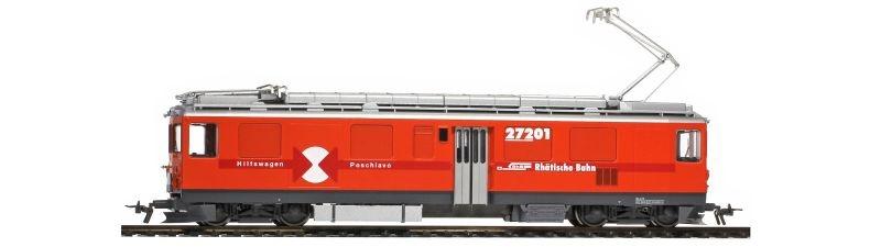 Bernina-Bahndiensttriebwagen Xe 4/4 272 01 der RhB, Spur H0m