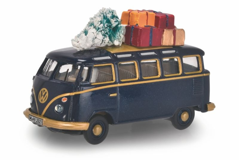 Weihnachtsmodell VW T1 Samba Weihnachtsmodell 1:87 / Spur H0