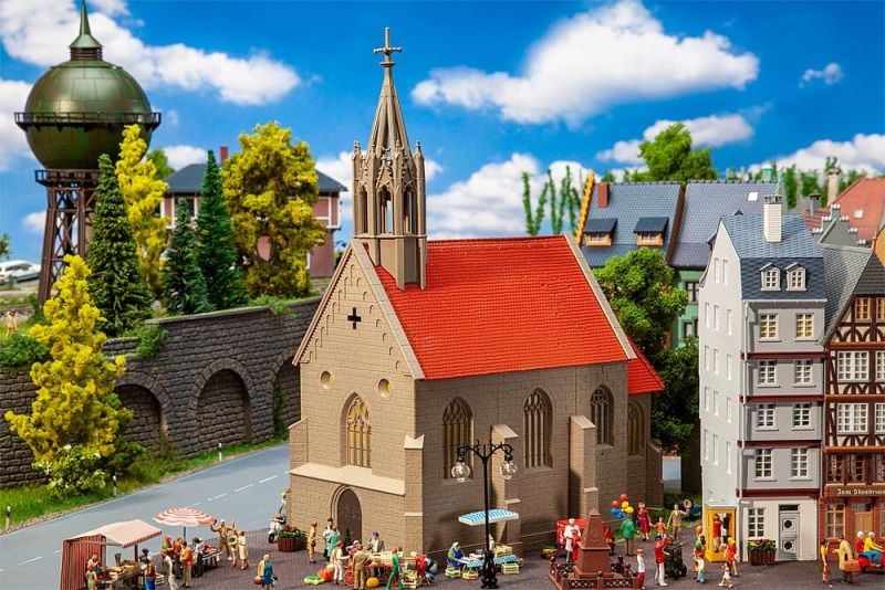 Kirche St. Andreas Bausatz, Spur H0
