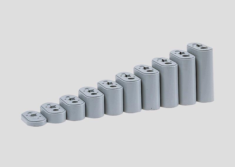 Pfeilersatz Auffahrt für Brücken (10 Stück) Spur Z