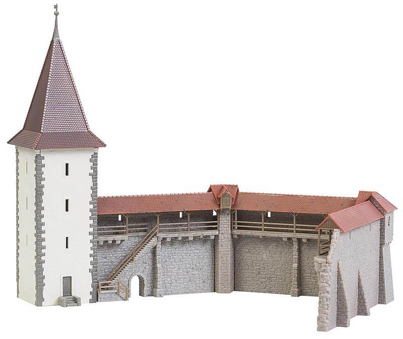 Altstadtmauer-Set Bausatz N