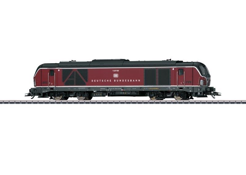 Diesellokomotive Baureihe 247 der DB AG, MHI, AC, Spur H0