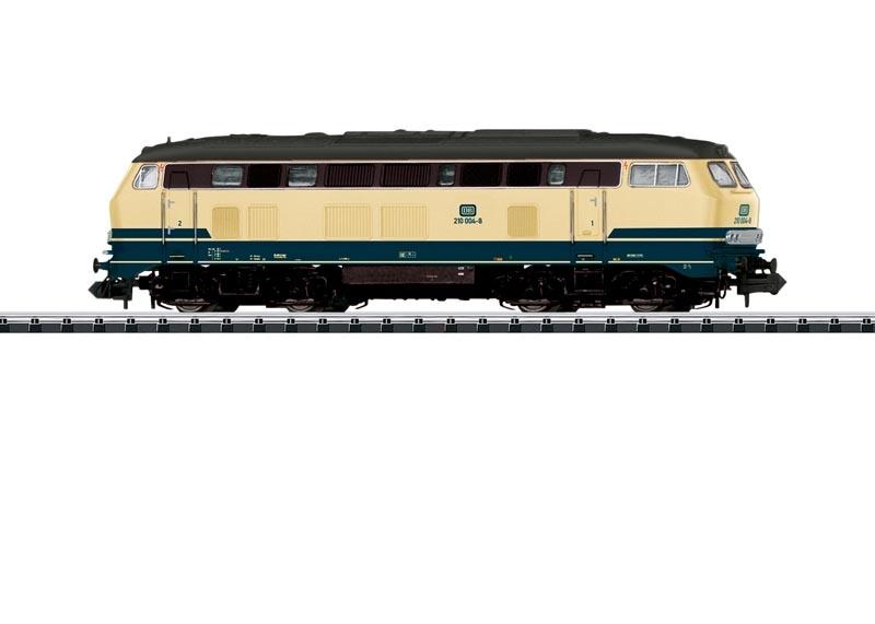 Diesellok BR 210 der DB, Sound, DCC, Minitrix Spur N