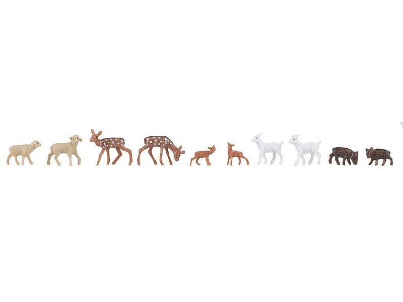 Tiergehege 10 Figuren H0