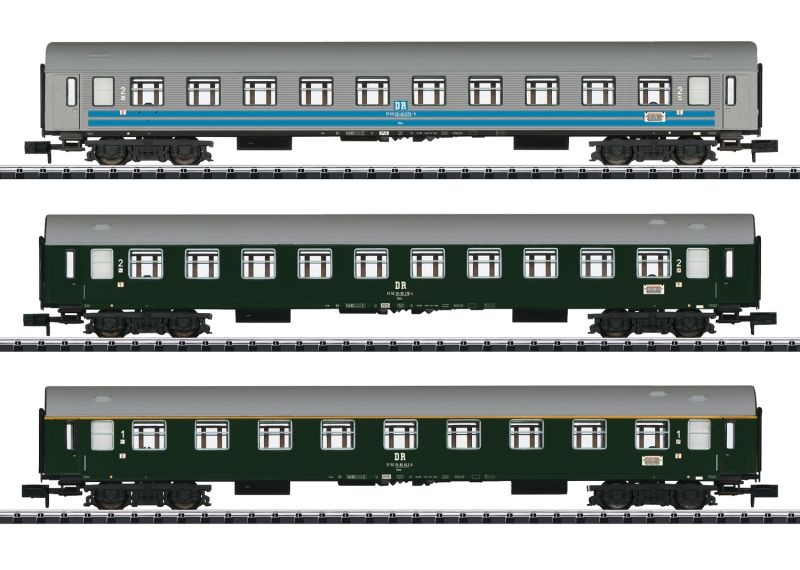 Schnellzugwagen-Set Balt-Orient-Express, Minitrix Spur N
