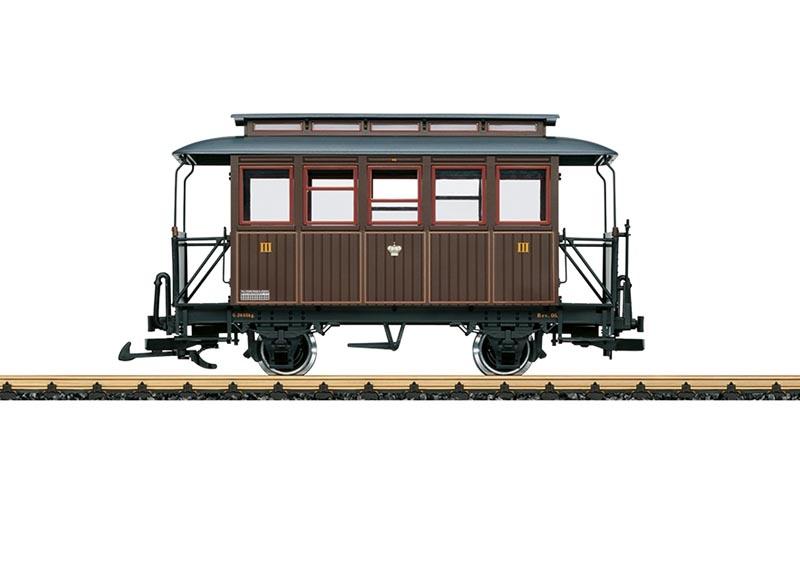 Personenwagen 3. Klasse, Spur G