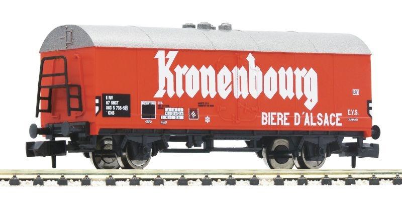 Bierwagen Kronenbourg der SNCF, DC, Spur N