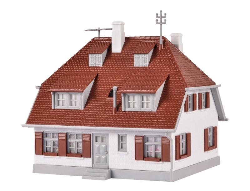 Einfamilienhaus Bergwald Bausatz, Spur H0