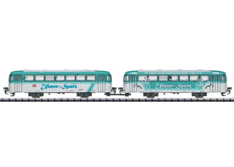 Beiwagen-Set BR VB 996 und VB 998, mfx, DCC, Minitrix Spur N