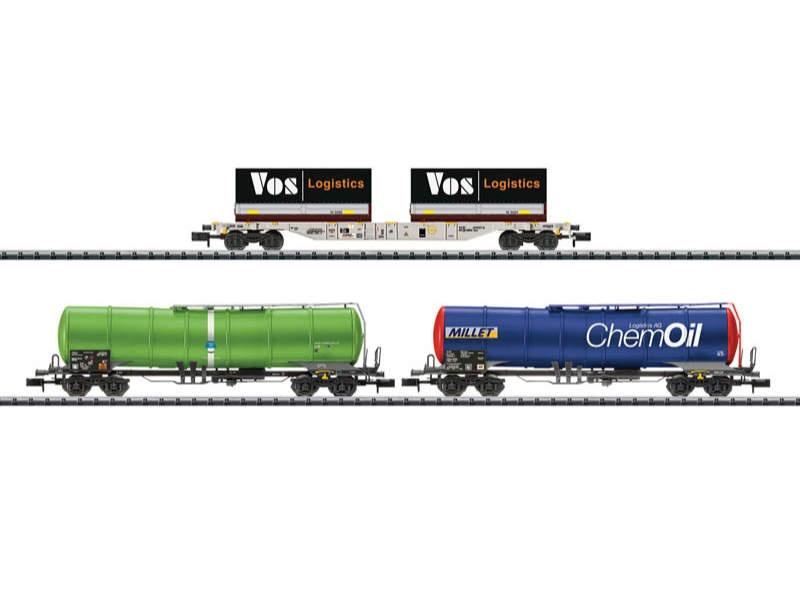 Trix 15651 carri-Set 'trasporto merci' SBB Spur N