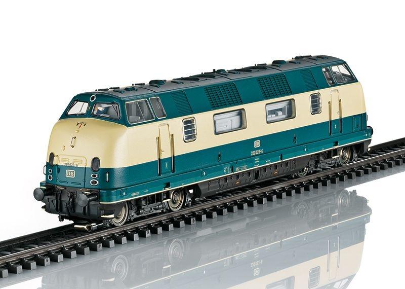 Sound-Diesellok BR 220 der DB, Epoche IV, Spur H0