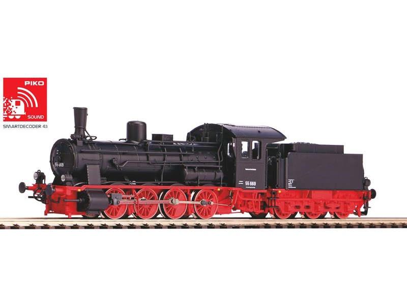 Sound-Dampflok BR 55 der DR, Epoche III, Spur TT