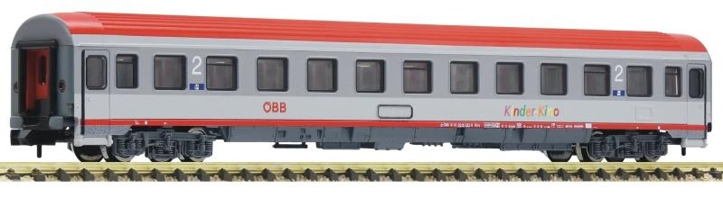 Eurofima-Wagen 2. Kl. mit Kinderkino-Abteil, ÖBB, Spur N