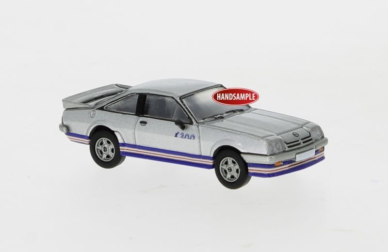 Opel Manta B i200 silber, 1984, 1:87 / Spur H0