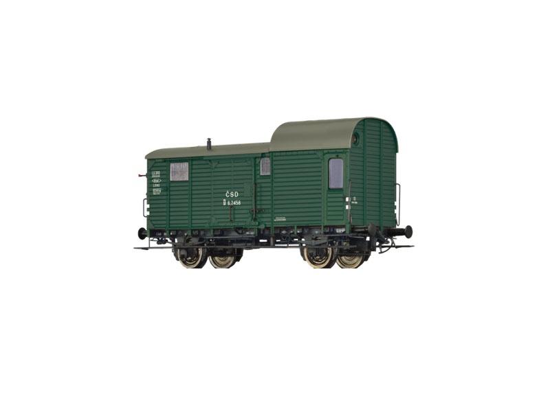 Güterzuggepäckwagen D der CSD, III, Spur H0