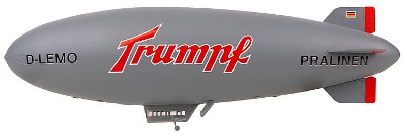 Luftschiff Trumpf Bausatz, Spur N