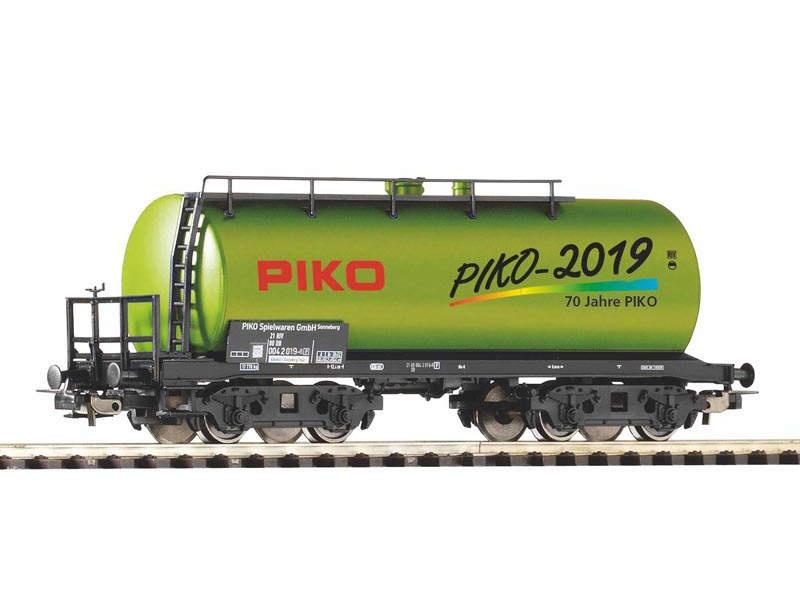 PIKO Jahreswagen 2019, Kesselwagen, Spur H0