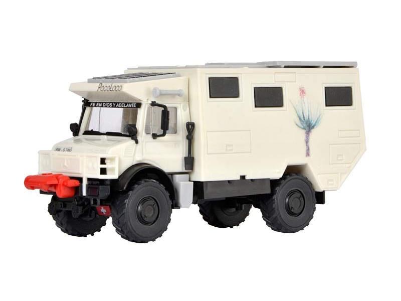UNIMOG Wohnmobil Unicat, Bausatz, Spur H0