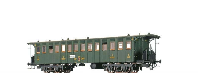 Personenwagen BC4 der SBB, II, DC, Spur H0