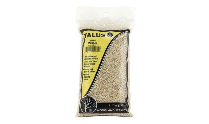 Talus - Gesteinsbrocken, sandfarben, mittel, 320 g