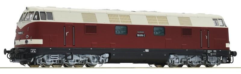 Diesellokomotive BR 118 der DR, DC, Spur H0