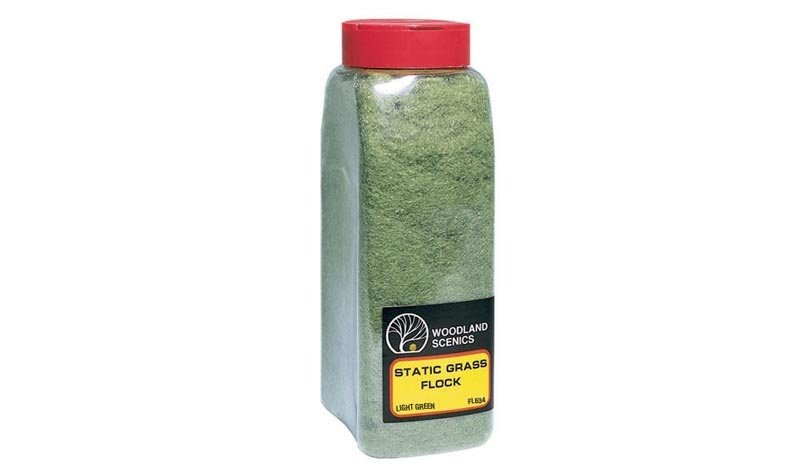Grasfasern - Hellgrün, im Shaker