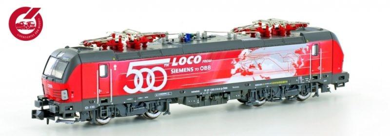 E-Lok RH1293  Vectron 500 Loco der ÖBB, Epoche VI, Spur N