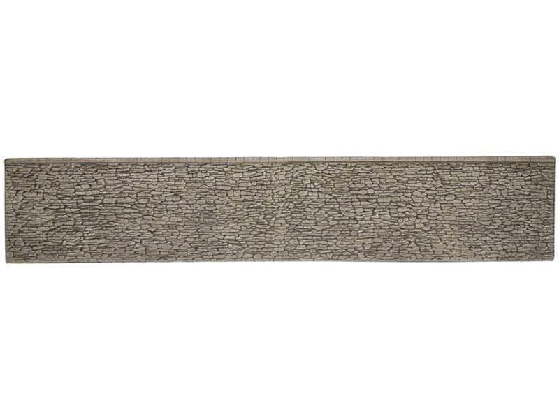 Mauer, extra-lang, 66 x 12,5 cm Spur H0