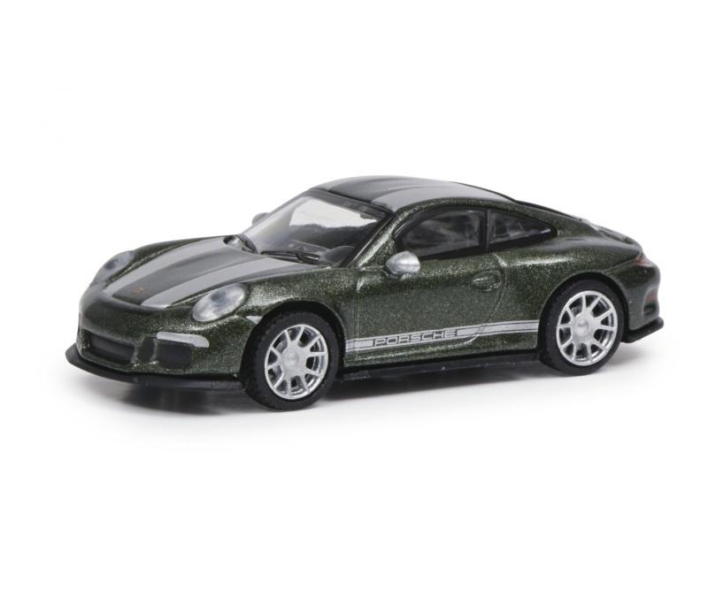 Porsche 911 R grün 1:87 / Spur H0