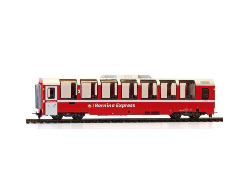 Panoramawagen Bp 2503 Bernina-Express der RhB, Spur H0m